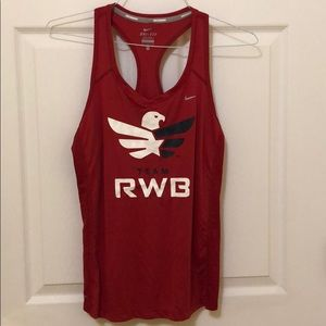 RWB tank top
